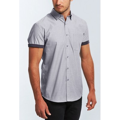 Picture of MENS END ON END SHORT SLEEVE SHIRT