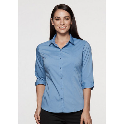 Picture of Ladies Mosman Stretch 34 Sleeve Shirt
