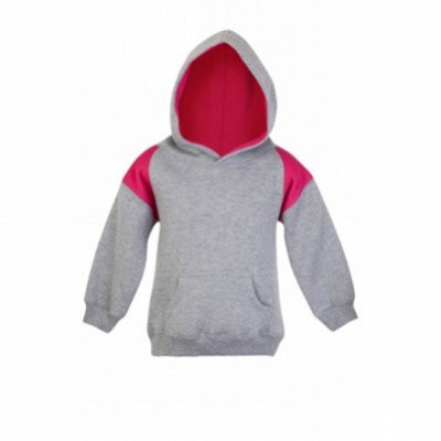 Picture of KIDS SHOULDERS CONTRAST PANEL HOODIES
