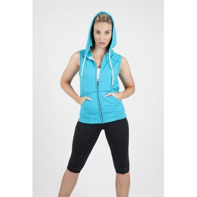 Picture of LadiesJunior Sleeveless Hoodie - Greatne
