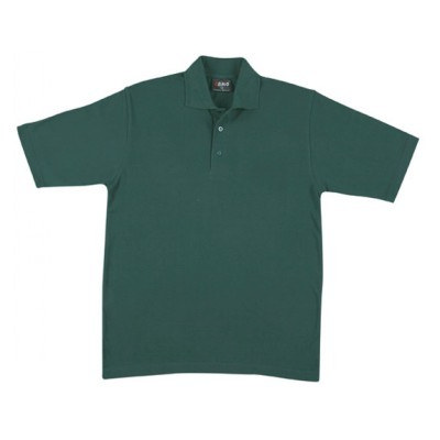 Picture of Mens 100% Cotton Jersey Polo