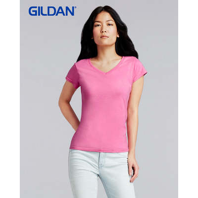 Picture of Gildan Softstyle Ladies V-Neck T-Shirt C