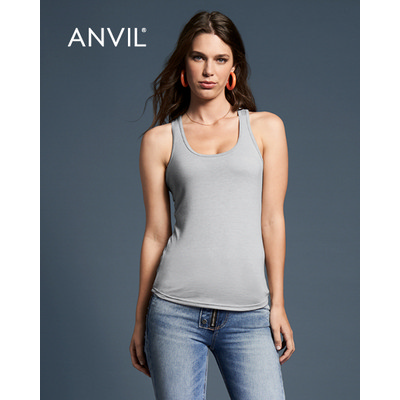 Picture of Anvil Womens Tri-Blend Racerback Tank Co