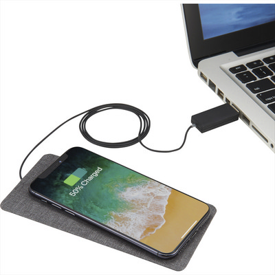 Picture of Ultra Thin Fabric Wireless Charging Pad