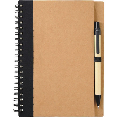 Picture of The Eco Spiral Notebook with Pen