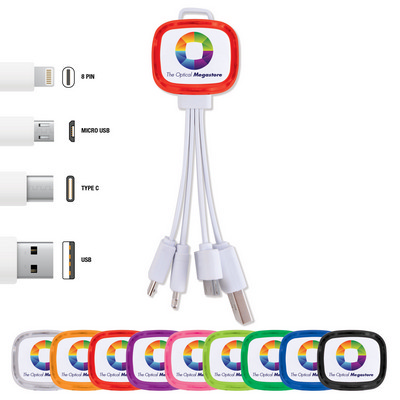 Picture of Family Light Up  3 in 1 Cable