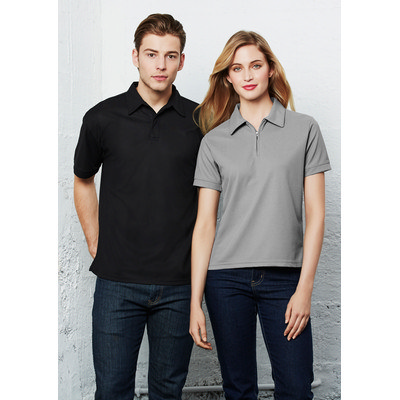 Picture of Mens Micro Waffle Polo