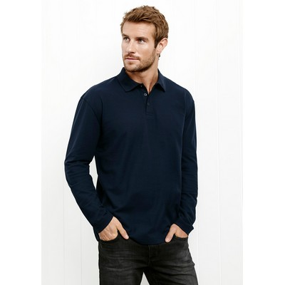 Picture of Crew Mens LS Polo