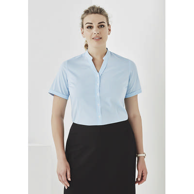 Picture of Womens Bordeaux Short Sleeve Shirt