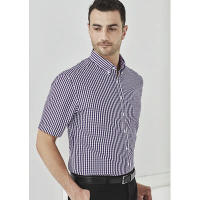 Picture of Mens Springfield Short Sleeve Shirt