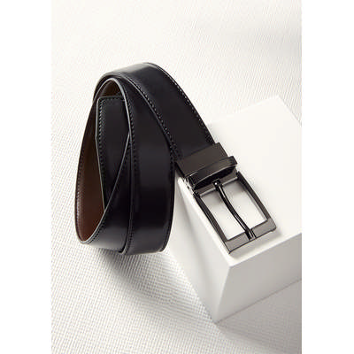Picture of Mens Leather Reversible Belt