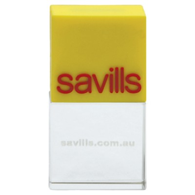 Picture of Moulded 3D Crystal Flash Drive 1GB