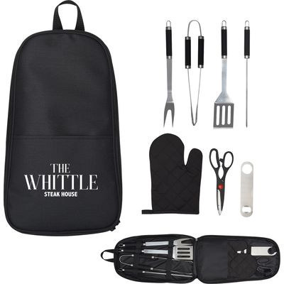 Picture of 7-PIECE PIT MASTER BBQ SET IN CARRYING C