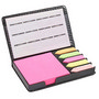 Square Pu Leather Case Of Sticky Notes W