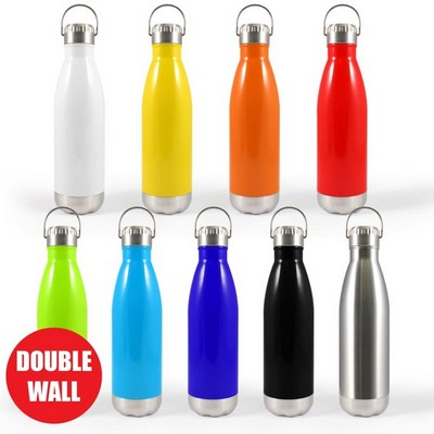 Picture of Soda Vacuum Bottle with Hanger Lid