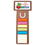 Business Card Bookmark  Ruler with Notef