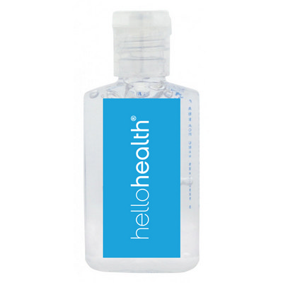 Picture of 60ml Hand Sanitiser Gel - 62% ethyl-alco