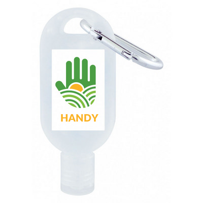 Picture of 30mL Hand Sanitiser with Carabiner - 75%