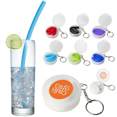 Picture of Reusable Silicone Straw