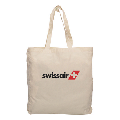 Picture of Calico Tote Bag with Gusset