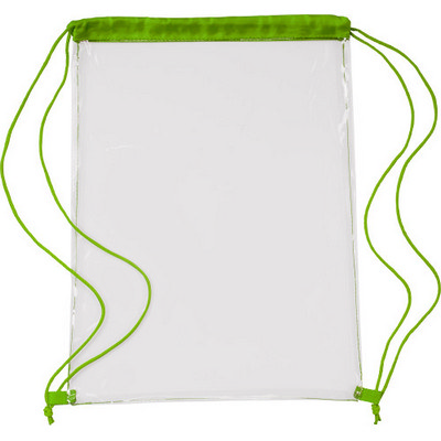 Picture of PVC drawstring backpack