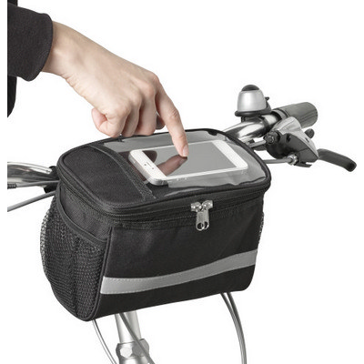 Picture of Polyester (600D) bicycle cooler bag