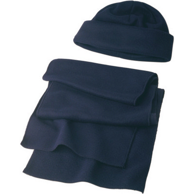 Picture of Polyester fleece (200 grm) beanie and sc