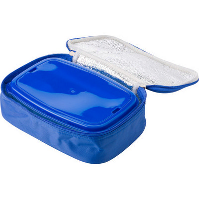 Picture of Plastic lunchbox in cooler bag