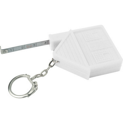 Picture of ABS key holder tape measure