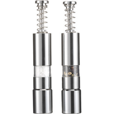 Picture of Stainless steel salt and pepper mill