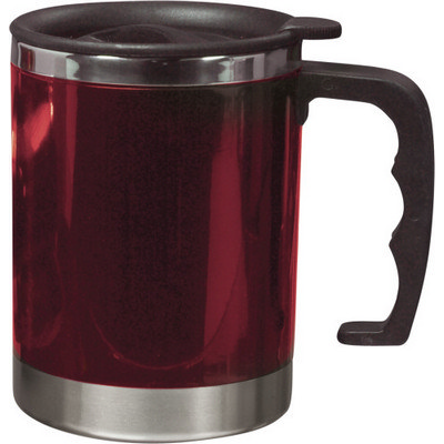 Picture of Stainless steel and AS double walled mug