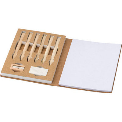 Picture of Cardboard colouring set