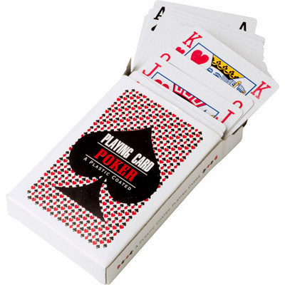 Picture of Cardboard box with playing cards