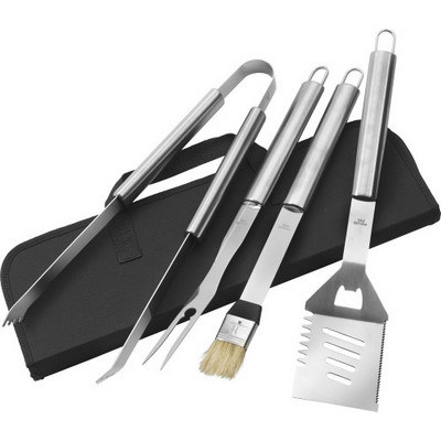 Picture of Stainless steel barbecue set