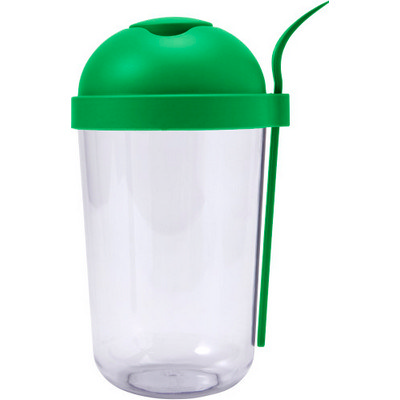 Picture of Plastic salad cup with plastic fork (950