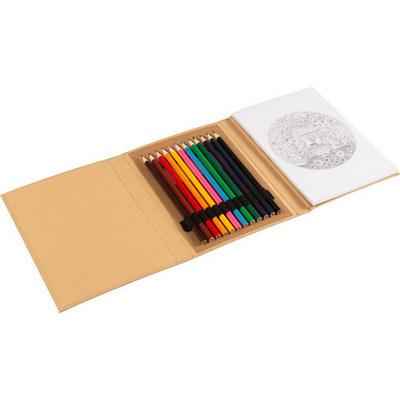 Picture of Cardboard colouring folder