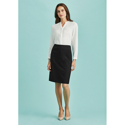 Picture of Womens Bandless Lined Skirt