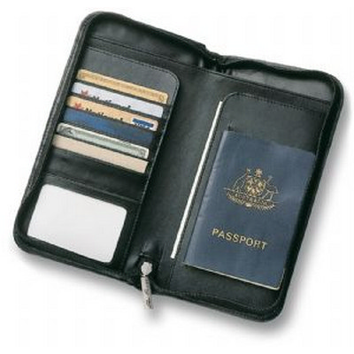 Picture of Leather Travel Wallet