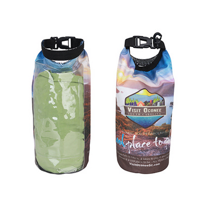 Picture of 2L Full Colour Dry Bag with  PVC Window