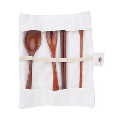 Picture of 4 pieces Wooden Utensils Set
