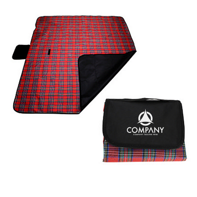 Picture of Stylish Picnic Blanket with PE Backing