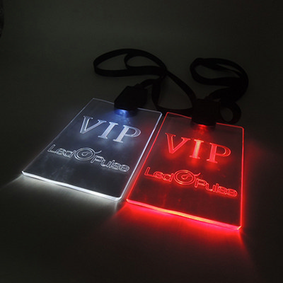 Picture of LED Lanyard with regular cable