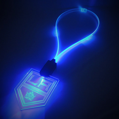 Picture of LED Lanyard with illuminating Cable
