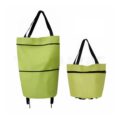 Picture of 2 in 1 Collapsible Shopping Trolley Bag