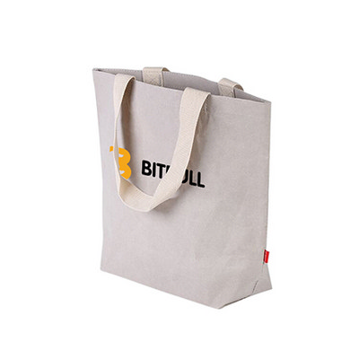 Picture of Large Washable Kraft Paper Bag with Cott