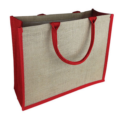 Picture of Coloured Jute Tote Bag