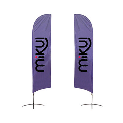 Picture of Medium(70.4300cm) Angled Feather Banners
