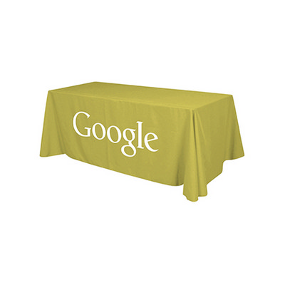 Picture of 3-Sided Throw Table Cloth  4ft