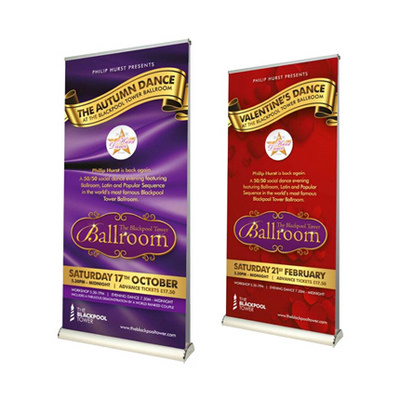 Picture of Double Sided Pull Up Banner (85 x 200cm)