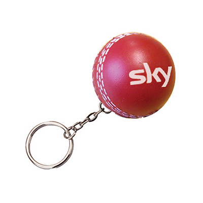 Picture of Cricket Keyring Stress Item